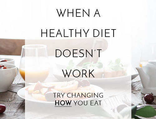 Try Changing How You Eat to Get Clear Skin